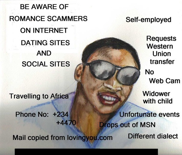 Nigerian scams on dating websites
