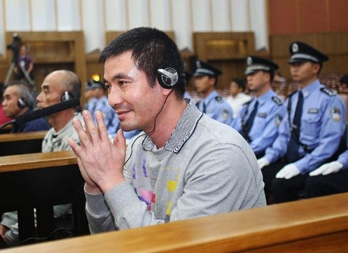 Naw Kham is seen at the Intermediate People's Court of Kunming