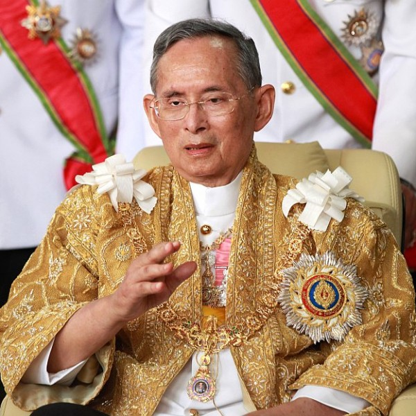 Thailand's King Bhumibol Adulyadej is the world's longest-serving living monarch