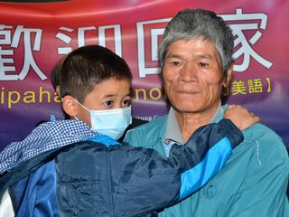 "The aboriginal Amis boy, surnamed Shen and nicknamed ""Little Ma,"" said the person he was most eager to see was his grandfather, according to Rev. Mana Karunawong, who escorted the child on his return"