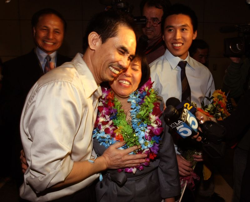 Democracy activist Released U.S. citizen Nguyen Quoc Quan