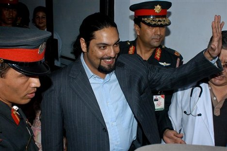 Former Crown Prince Paras Shah of Nepal