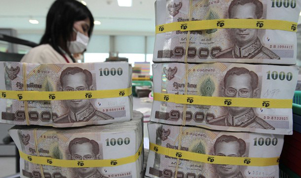 The baht rose 0.1 percent to 29.60 per dollar as of 4:04 p.m. in Bangkok after reaching 29.55 earlier, the strongest level since August 2011