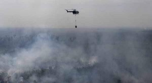 One person suggested that all you need is a couple of helicopters flying around full-time to douse the fires before they get out of control.