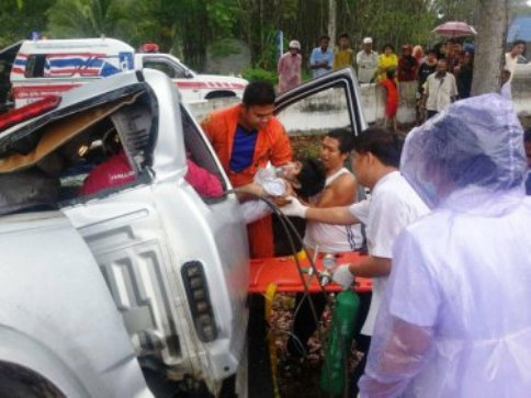 In the first four days of the holiday period there were 1,897 road accidents which caused 218 deaths and 2,020 injuries