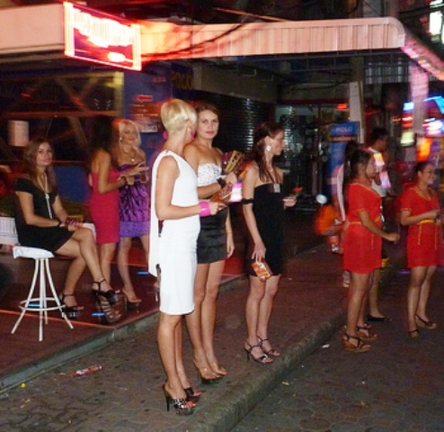 Human trafficking and prostitution with Russian nationals the main target