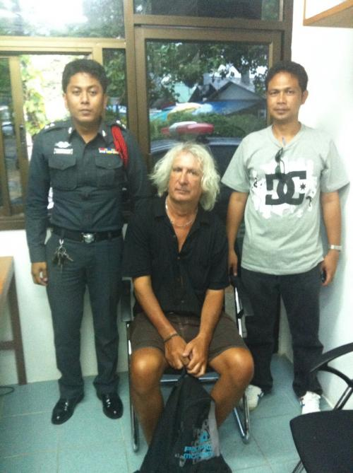 Frenchman Marc Forestier, 54, told police he was robbed by teenagers in order to avoid his wife's ire after a spending spree in Phuket.