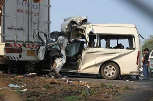 close to halfway through the ``seven dangerous days'', 173 motorists had been killed
