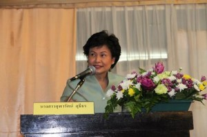 Chularat Suteethorn, the director general for the Public Debt Management Office