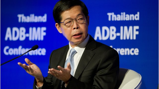 Finance Minister Kittiratt Na-Ranong in recent months has pressed repeatedly for sharper interest rate cuts to take some of the heat out of the Thai baht's ascent