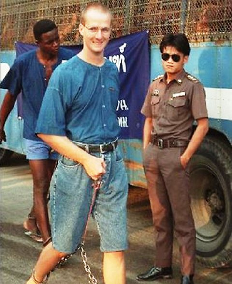 Garnett has been in prison since he was arrested at Bangkok Airport in 1993,