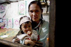 Mu Kyi, a migrant worker in Thailand, fears for the future of her children
