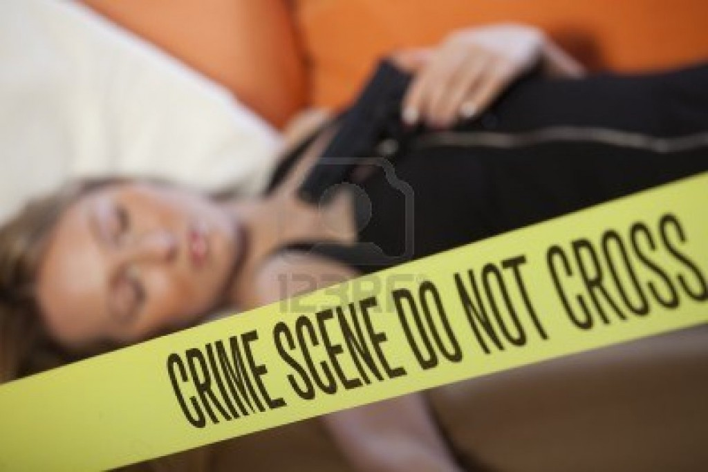 9019052-crime-scene--dead-woman-with-gun-focus-on-boundary-tape