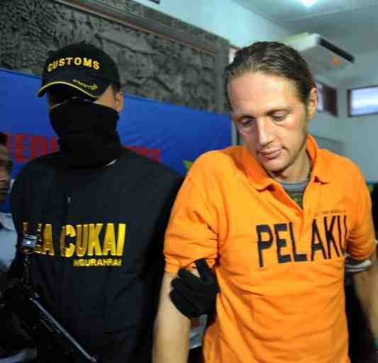 Martin Robert Moller, 42, also must pay a fine of around $100,000 or face an additional three months in prison Read more: http://www.upi.com/Top_News/World-News/2013/05/13/German-addict-gets-five-years-in-Indonesia/UPI-21001368417780/#ixzz2TB1hNYVC