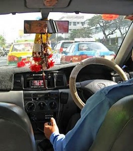 Away from the airport, taxi drivers and tuk tuk drivers are most often the scammers