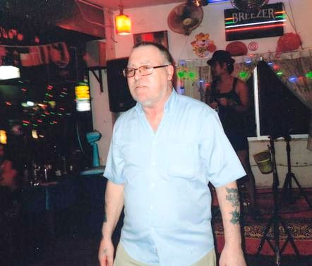 Eddie 'The Rocker' Norton died when his bike smashed into a sign-post at the resort of Pattaya during a holiday with friends.