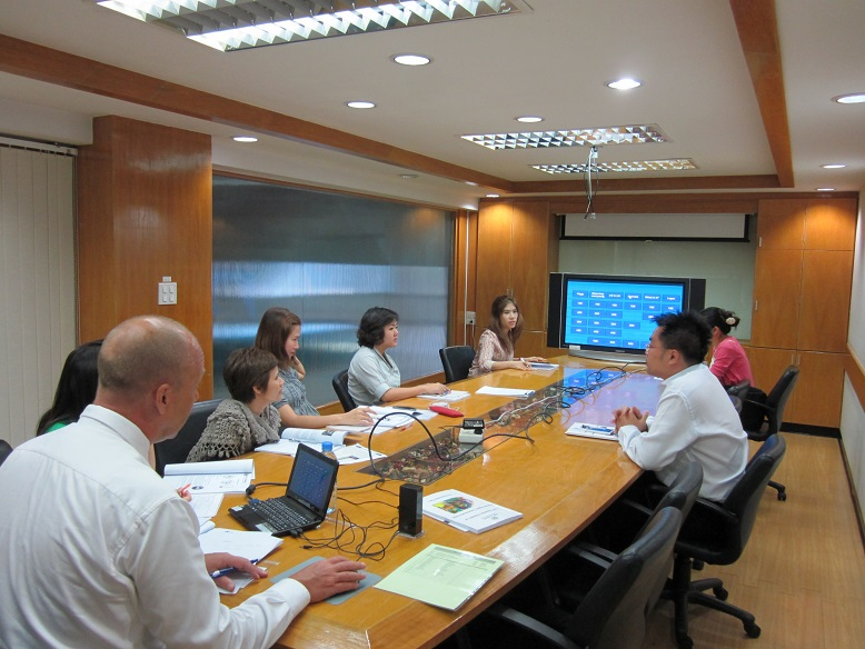 Students Learn Business English in Bangkok - BitS (Thailand)