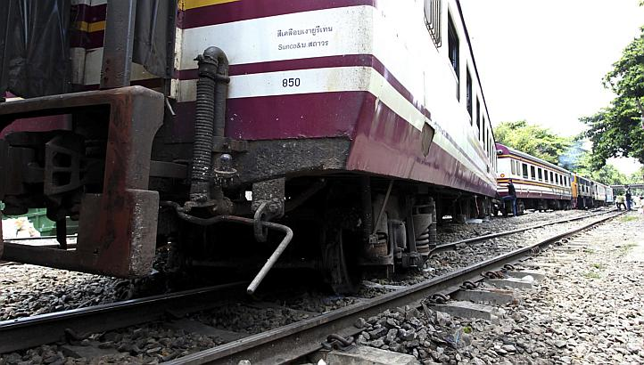 The accident happened between kilometre markers 675 and 676, near Ban Mae Tan Noi in, close to the spot where a previous derailment took place on Aug 17.