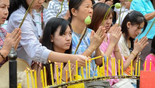 Thailand is a Buddhist country with more than 80 per cent of Thais claiming to follow the religion