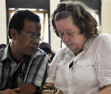 Lindsay Sandiford faces the death sentence in Indonesia for drug trafficking