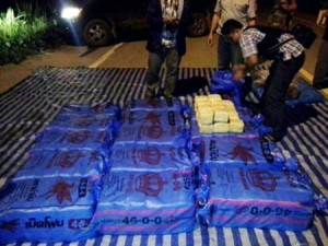 4.2 million methamphetamines were uncovered in Chiang Rai stashed in a pickup truck.