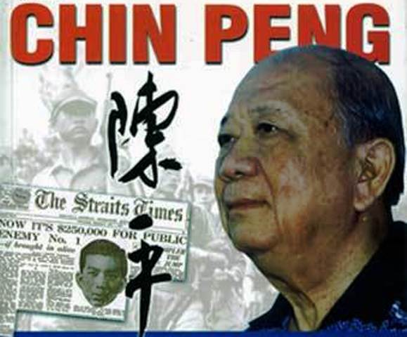 Former Malayan communist chief Chin Peng lived in exile in Thailand for more than five decades and was not permitted to return in Malaysia
