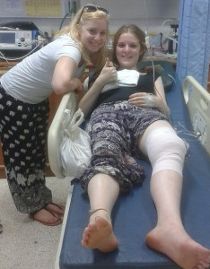 In hospital: Following the attack, Ms Brennan was told she would have scarring for life - See more at: http://www.ablxboston.com/national/13981-student-19-mauled-by-400lb-tiger-in-thailand-at-popular-tourist-attraction.html#sthash.1uZM3H9m.dpuf