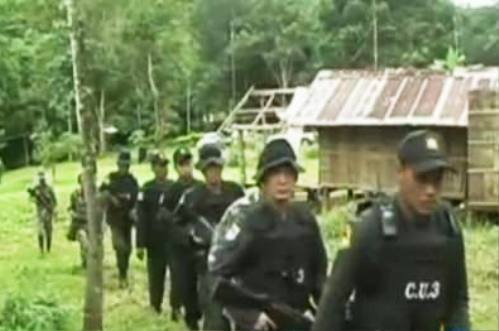 Col Watcharapong Kaewjaeng, commander of Pha Muang's Special Force 31, said he ordered rangers to keep a close watch on Ban Mae Khao Tom in tambon Thasud after receiving a tip that a large haul of illegal drugs would be smuggled from Myanmar to Thailand through Chiang Rai