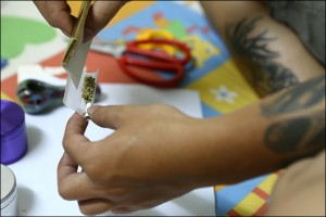 Smokers said one gram of Canadian weed retails for anything up to $45, the average weekly wage in the country.