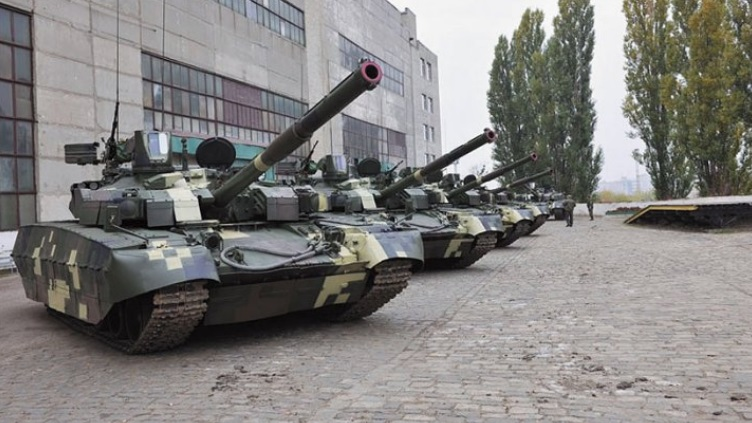 Ukraine handed over the first five Oplot MBTs to Thailand on 15 October. Source: Ukroboronprom