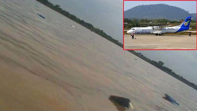 Lao Airlines plane carrying at least 49 people, including a Canadian, crashed as it tried to land in southern Laos killing all on board