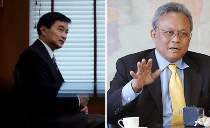 Mr. Abhisit and his Deputy Prime Minister at the time, Mr. Suthep Thaugsuban