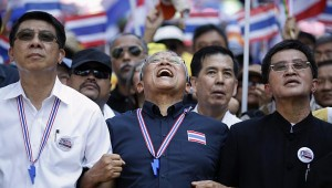 """Kasian predicted dire consequences for democracy if Suthep is handed """"absolute power"""". """"What tools would Thai people have to scrutinise Suthep once he has seized all the power?"""""""
