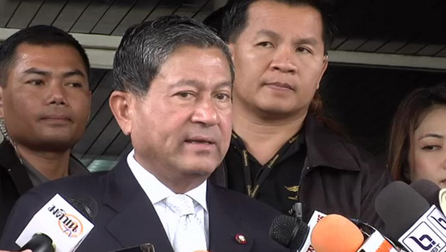 Chalerm said Thursday that he had assigned Pol Gen Panupong Singhara na Ayudhya, his secretary, to head a police team responsible for the arrest of Suthep