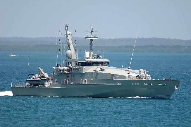 The boats have a range of about 5500km at 12 knots and a top speed of 25 knots.