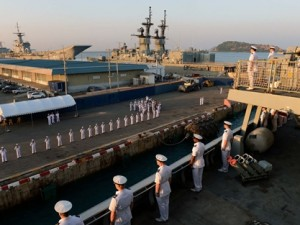 oyal Navy warship HMS Daring has arrived in Sattahip-Chuk Semat, Thailand as part of her nine-month global deployment.