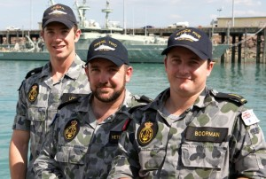 The Australian sailors will conduct professional and cultural exchanges with counterparts from the Burmese Navy during the visit to Burma's biggest port.