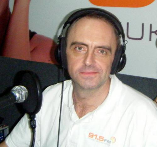 Renowned Phuket DJ Paul 'DJ Doris' Norris died in a motorbike accident early yesterday morning. Photo: 91.5FM