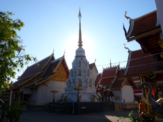 Wat Klang Wiang in Chiang Rai was constructed around 1432