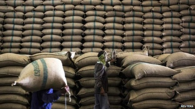 Thailand has announced that a contract to sell more than a million tonnes of rice to China has been cancelled.