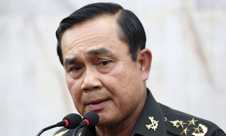 Army Commander-in-Chief General Prayuth Chan-ocha in a statement released Monday