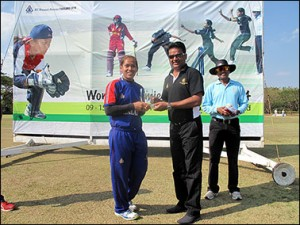 Thailand's captain Sornnarin Tippoch was named player of the match for her innings of 64* and figures of 5 for 13 and Chanida Sutthiruang, Sirintra Saengsakaorat and Suleeporn Laomi also performed well but Thailand will face their biggest test in the last match of the competition when they face China at Royals.