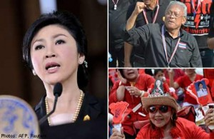 Pro-government Red Shirts, who have been closely watching the unfolding political drama in Bangkok, have ramped up their rallies and rhetoric in support of Yingluck