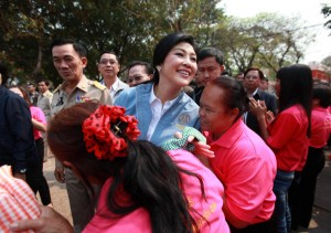 Ms. Yingluck meanwhile faces a possible collapse of her government