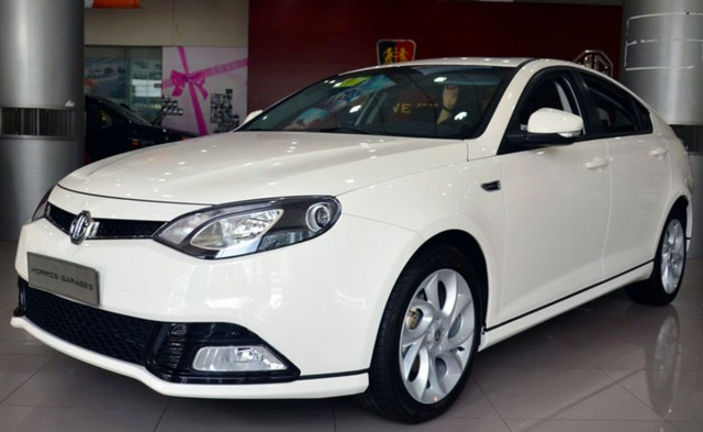 MG6 is owned by Chinese automaker SAIC Motor,