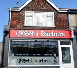 Urban Barbers which was owned by Stephen Campbell