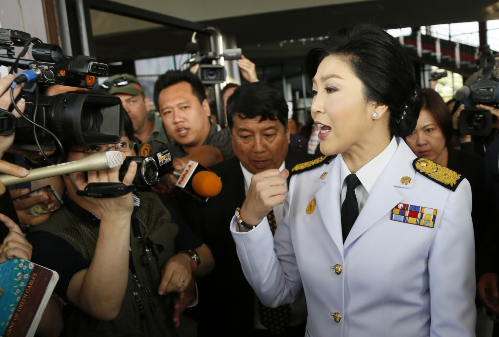 Yingluck Shinawatra is facing a wave of opposition protests after her government pushed through an amnesty that would have lifted a conviction against her brother, Thaksin