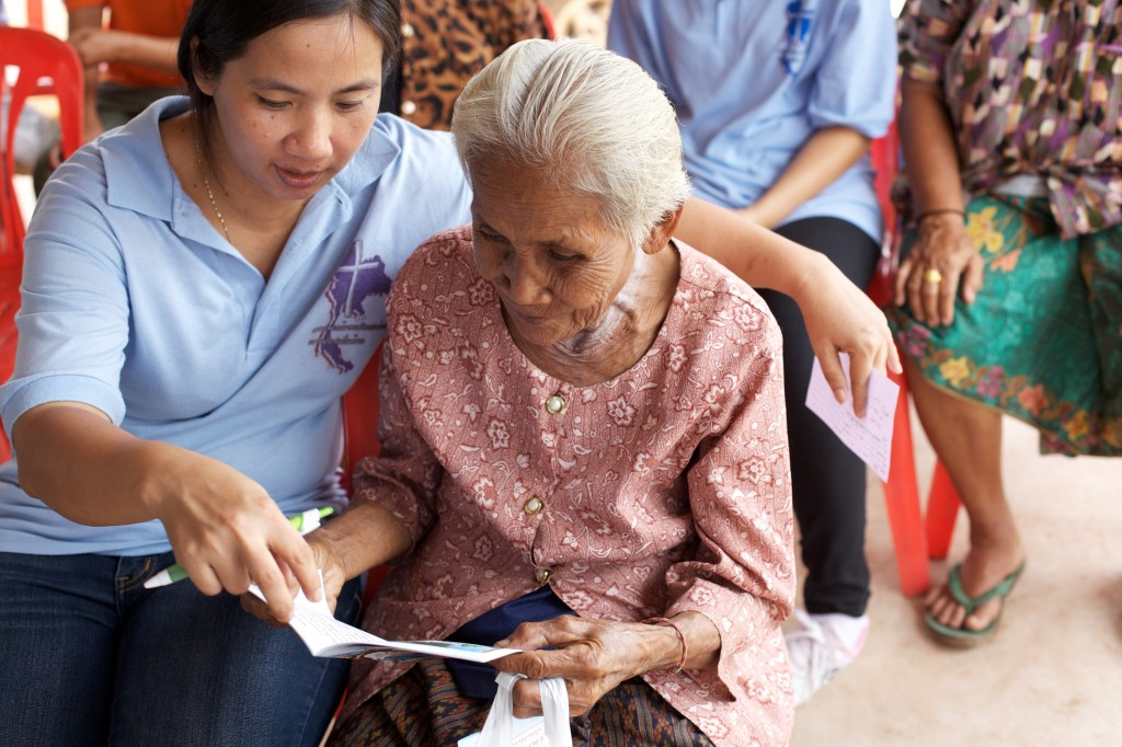 Statistics show that the proportion of persons aged over 60 years in Thailand now accounts for 13 percent of the total population