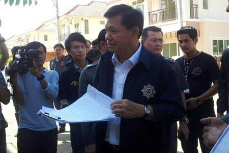 Pol Gen Pongsapat Pongcharoen, chief of the Office of the Narcotics Control Board
