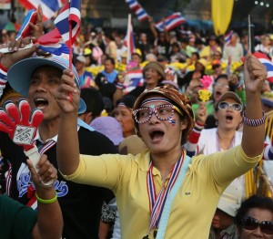 On one side are the royalist Yellow Shirts, an intransigent coalition of the elite made up of the Thai bourgeoisie, top military brass, urban professionals